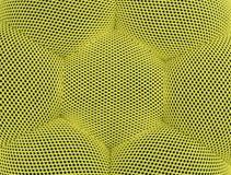 方格色的黄色抽象背景的滤网 图库摄影