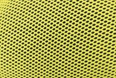方格色的黄色抽象背景的滤网 库存图片