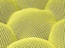 方格色的黄色抽象背景的滤网 免版税库存照片