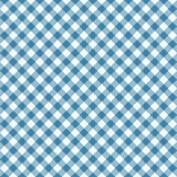 方格花布无缝的蓝色样式 桌布构造,格子花呢披肩背景 衬衣的印刷术图表,衣裳 皇族释放例证