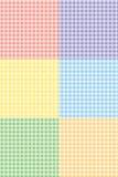 方格花布模式 免版税库存图片