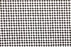 方格花布织品背景 免版税库存图片