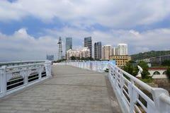 方法桥梁边路  库存图片