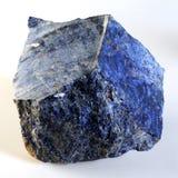 方钠石-乌克兰矿物 库存照片