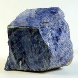 方钠石-乌克兰矿物 免版税库存照片