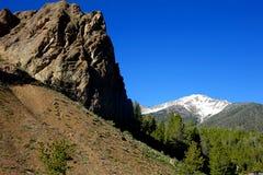 方铅矿山顶,爱达荷 免版税图库摄影