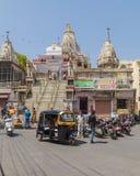 1652年方面对udaipur vishnu的被编译的专用的信念印度印度jagannath jagdish阁下寺庙是 库存照片