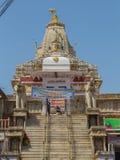 1652年方面对udaipur vishnu的被编译的专用的信念印度印度jagannath jagdish阁下寺庙是 免版税图库摄影
