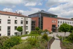 施万多尔夫市政厅  库存照片