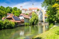施万多尔夫,巴伐利亚 图库摄影