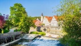 施万多尔夫,巴伐利亚 库存照片
