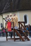 施利尔塞,德国,巴伐利亚05 11 2017年:Leonhardi乘驾在巴法力亚施利尔塞 库存照片