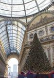 施华洛世奇圣诞树 免版税库存照片