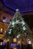 施华洛世奇圣诞树 图库摄影