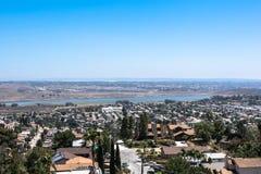 施普林谷风景,圣地亚哥,加利福尼亚 免版税库存照片
