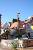 施派尔都市风景有它的历史街市和房子的 Peo 免版税库存照片