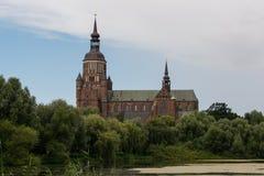 施特拉尔松德,德国教会  库存图片