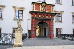 施韦策突岩, Hofburg,维恩 免版税库存照片