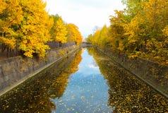 旁路运河。 图库摄影