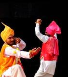 旁遮普人民间音乐和舞蹈 库存照片