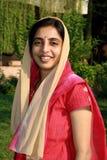 旁遮普人聪明的妇女 库存图片