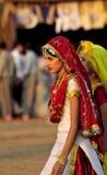 旁遮普人gidda舞蹈女孩 免版税库存图片