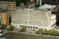 旅团火总部设伦敦 免版税库存照片