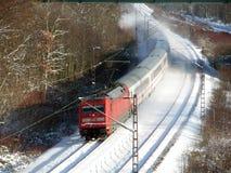 旅客列车 图库摄影
