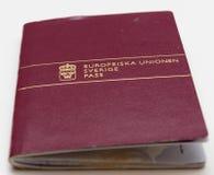 旅客的护照。 免版税库存照片