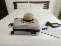 旅客的静物画 库存图片