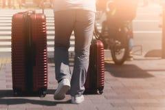 旅客背景概念 免版税库存图片