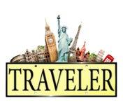 旅客 图库摄影