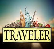 旅客 免版税库存照片