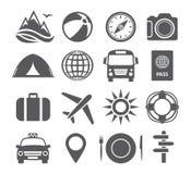 旅游业和旅行象 免版税图库摄影