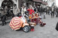 旅游业在巴黎2014年 库存图片