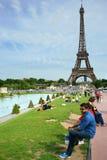巴黎旅游业 免版税图库摄影