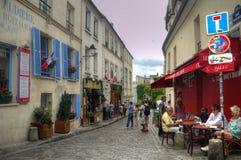 巴黎旅游业 库存照片