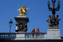 旅游业巴黎 免版税库存图片