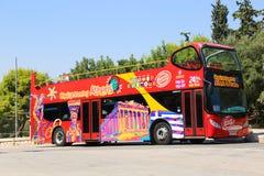 旅游公共汽车-雅典,希腊 图库摄影