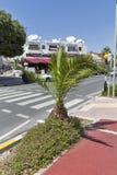 旅游区域在帕福斯,塞浦路斯 免版税库存图片