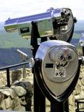 旅游双筒望远镜 库存照片