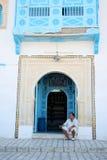 旅游商店在Kairoun 库存照片