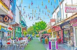 旅游地点在安塔利亚 免版税图库摄影
