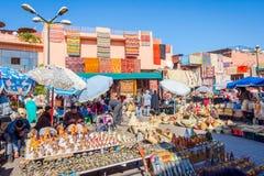旅游市场,马拉喀什 库存照片