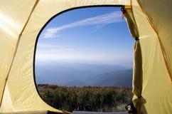 旅游帐篷 库存图片