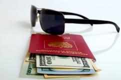 旅游旅行和海外商务旅行俄国公民 库存图片
