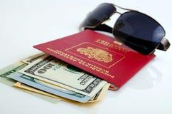 旅游旅行和海外商务旅行俄国公民 免版税图库摄影