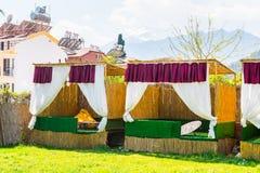 旅游旅馆在凯梅尔,土耳其 库存图片
