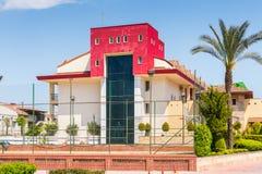 旅游旅馆在凯梅尔,土耳其 免版税库存图片