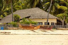 旅游海岛,马达加斯加的Atmosfera海岸 免版税库存图片